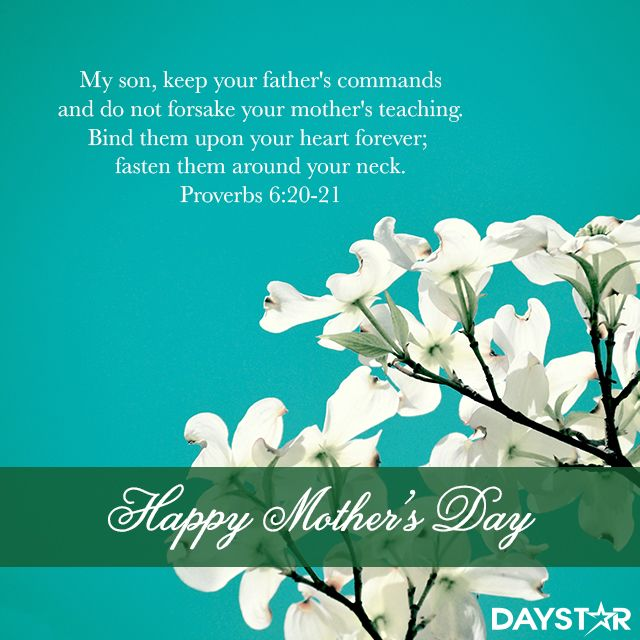 imgenes de happy mothers day biblical message