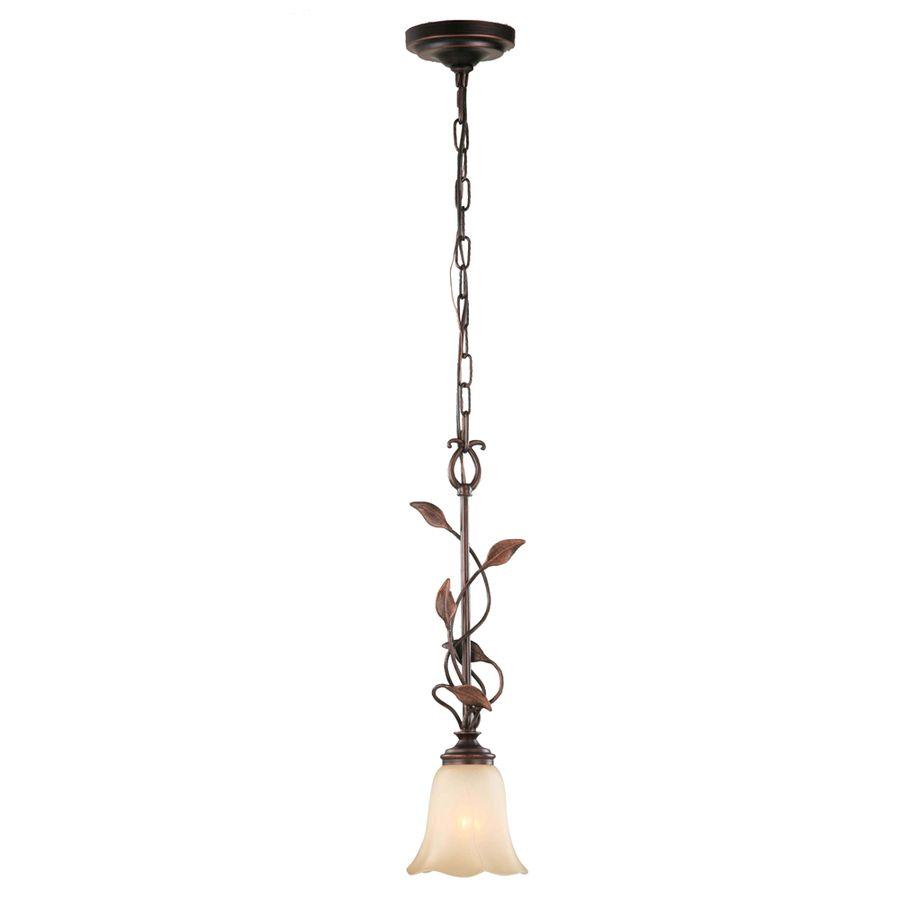 Shop Allen + Roth Eastview 6.12-in Dark Oil-Rubbed Bronze