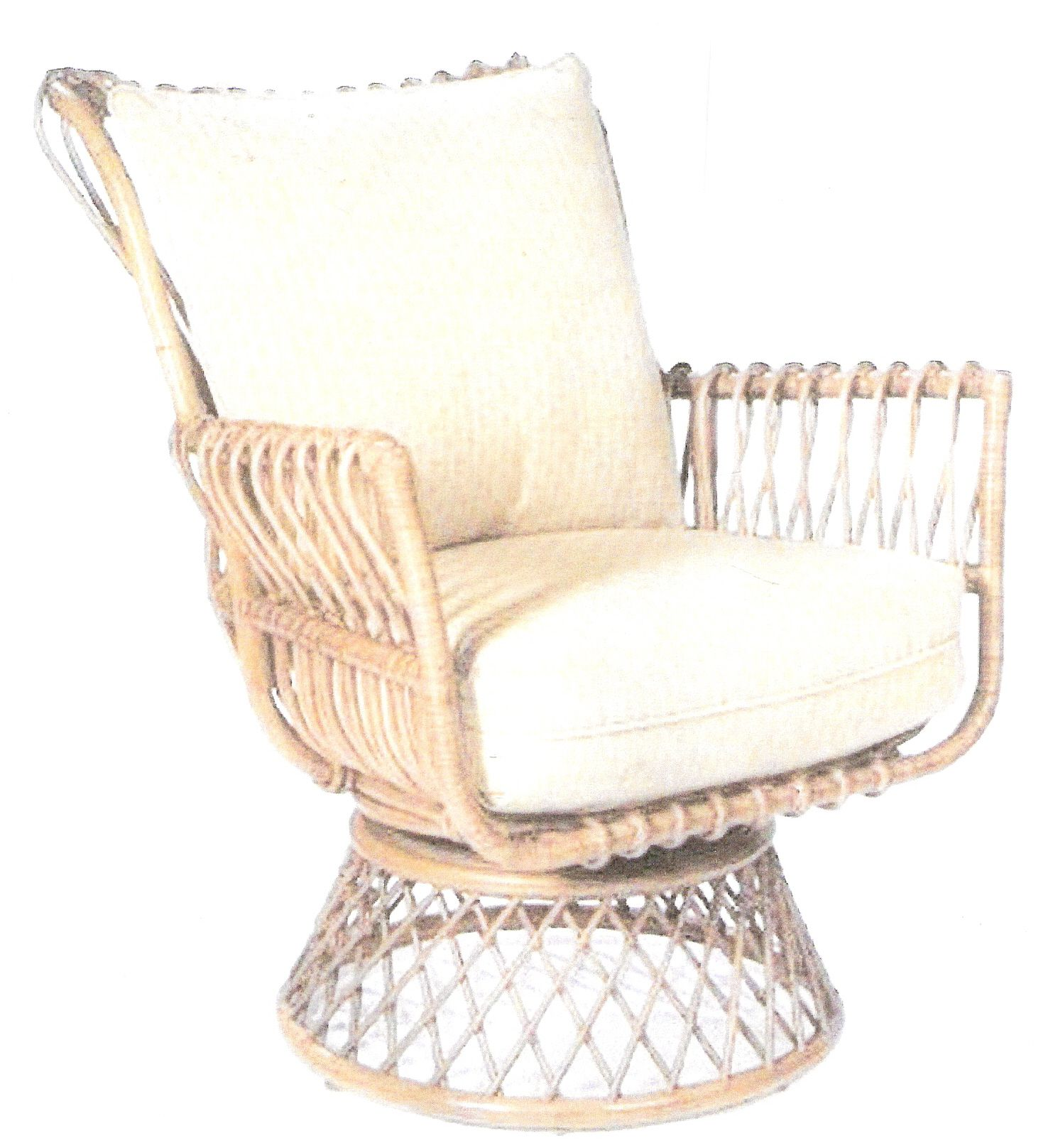 Bamboo Chair Makeover Rattan