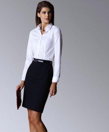 Cómo vestir para una entrevista de trabajo  fotos de los modelos ... eec833c647ec