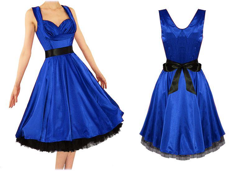 Robe bleu roi ebay