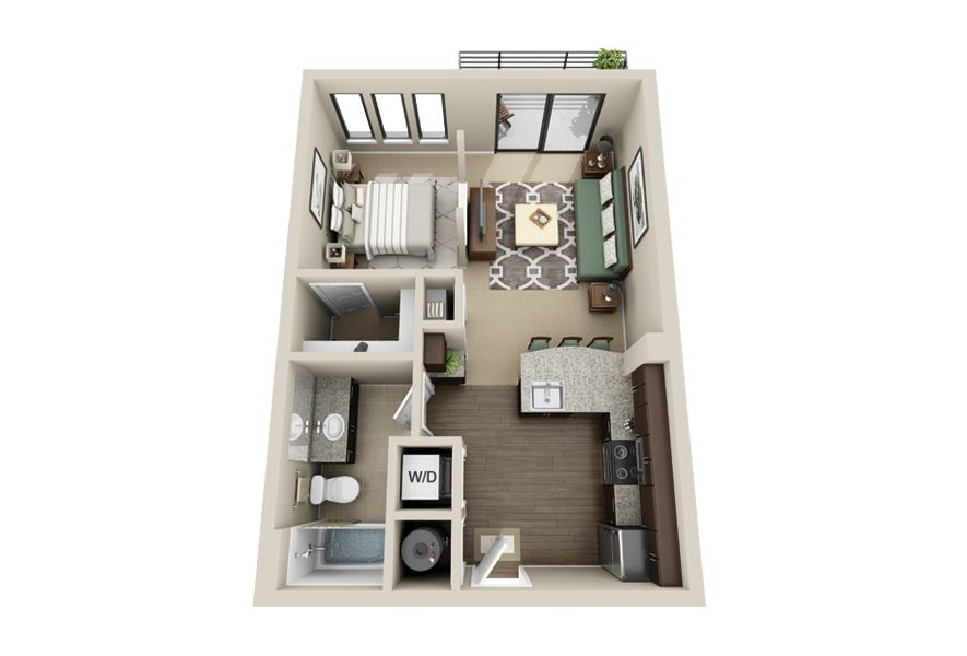 Tiny Apartment Layout gateway west apartments also showcases high end interiors with