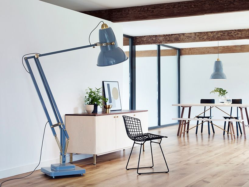 Anglepoise Scales Up Its 1930s Desk Light With Giant Lamp Collection