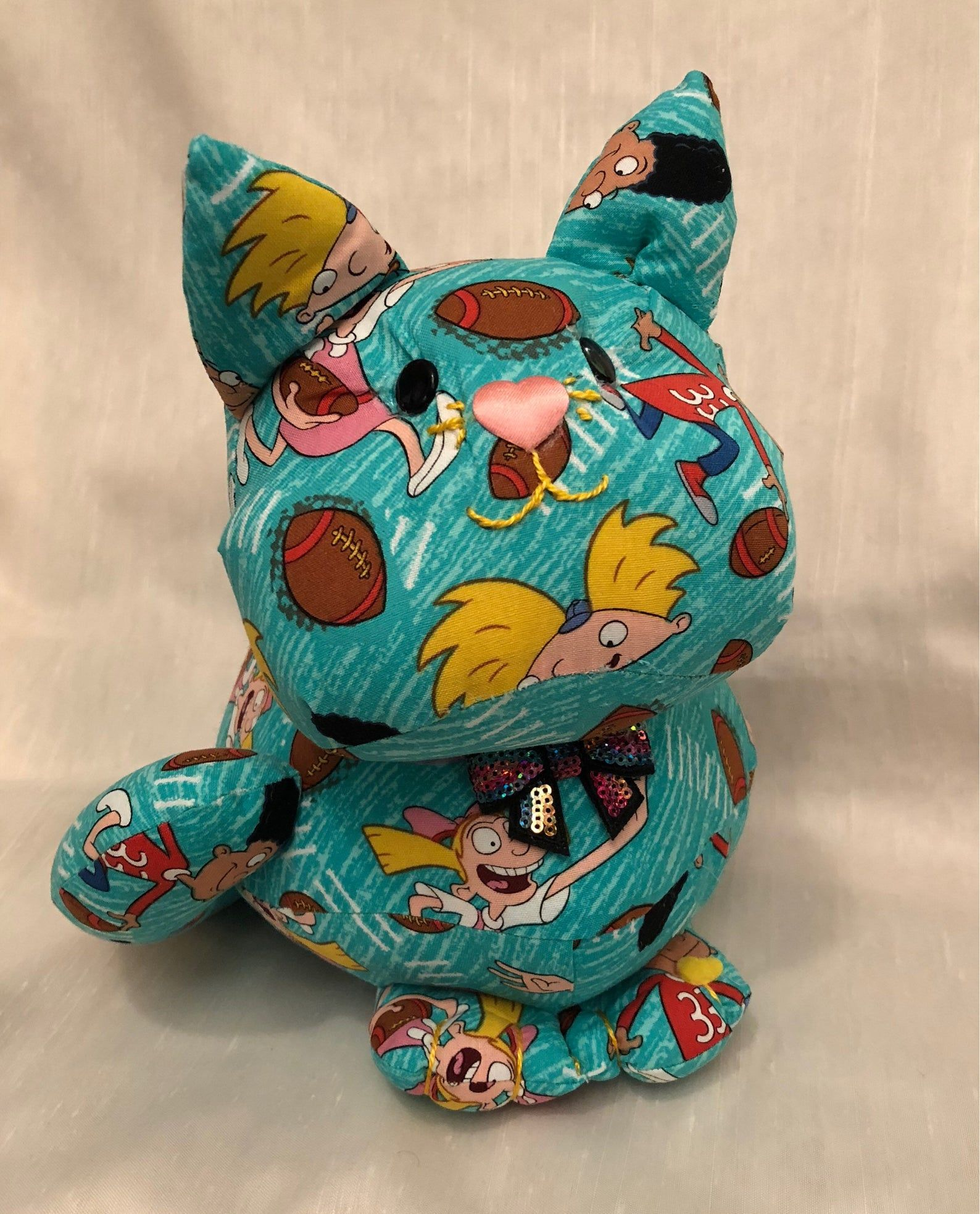 Handmade item stuffed animals, stuffed cat, a cat lovers