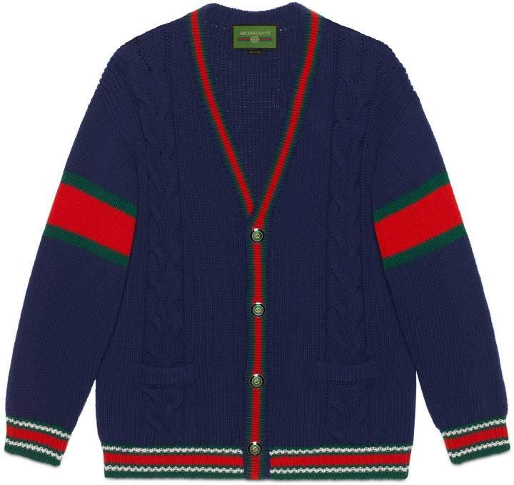 Photo of Gucci DIY unisex wool cardigan