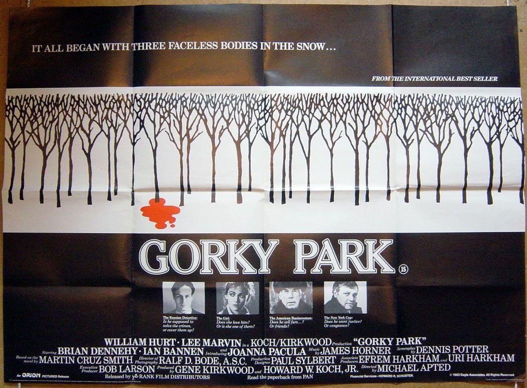 ผลการค้นหารูปภาพสำหรับ gorky park film poster