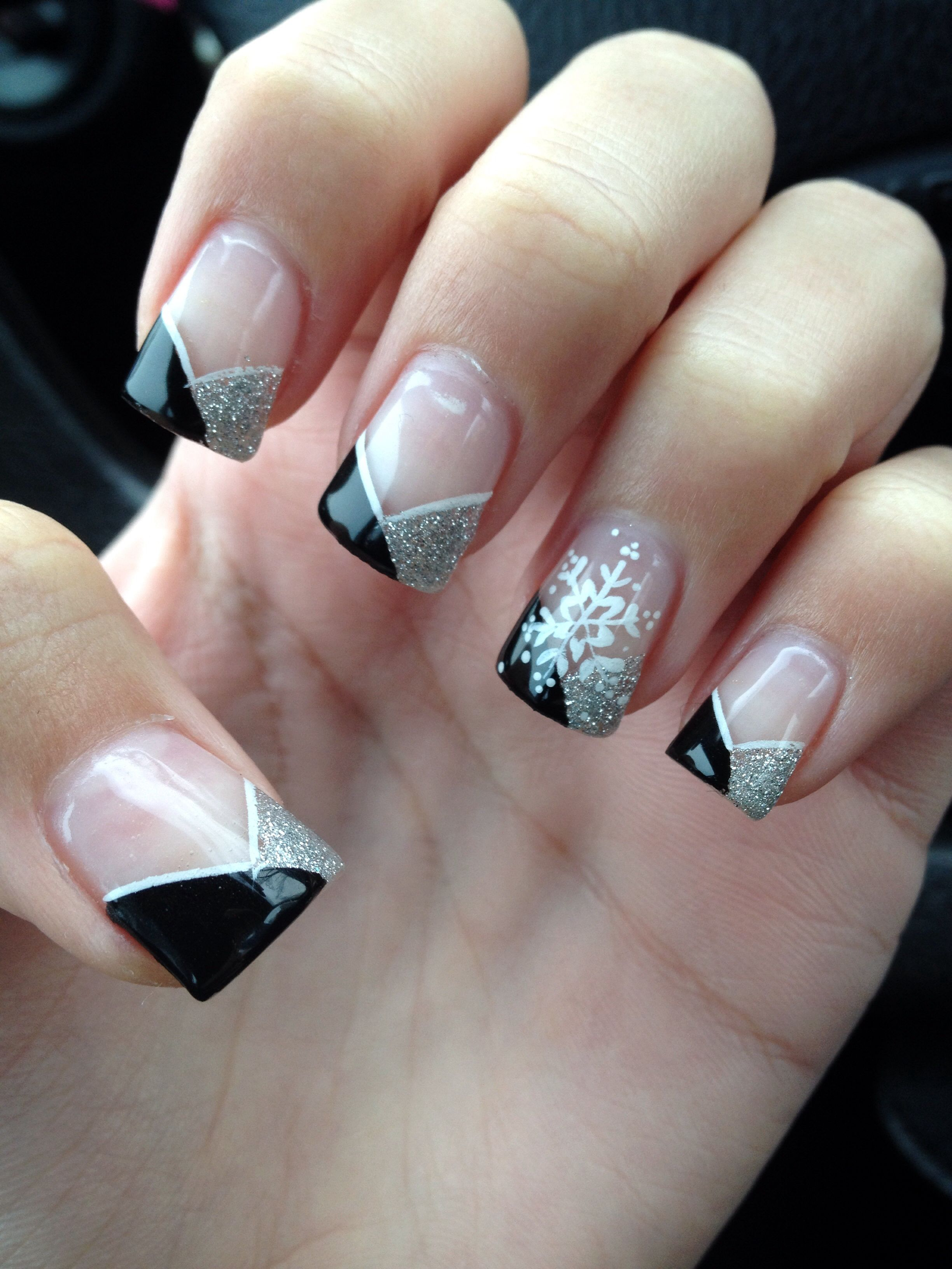 December nails! For January? | Nail inspiration | Pinterest ...