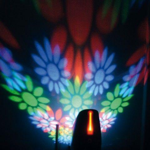 LÁMPARA PROYECCIÓN MURAL DL466 Esta lamparita se enciende únicamente en la oscuridad gracias a su célula foto sensible.
