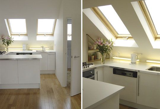 Small Space Solutions from an Attic Apartment