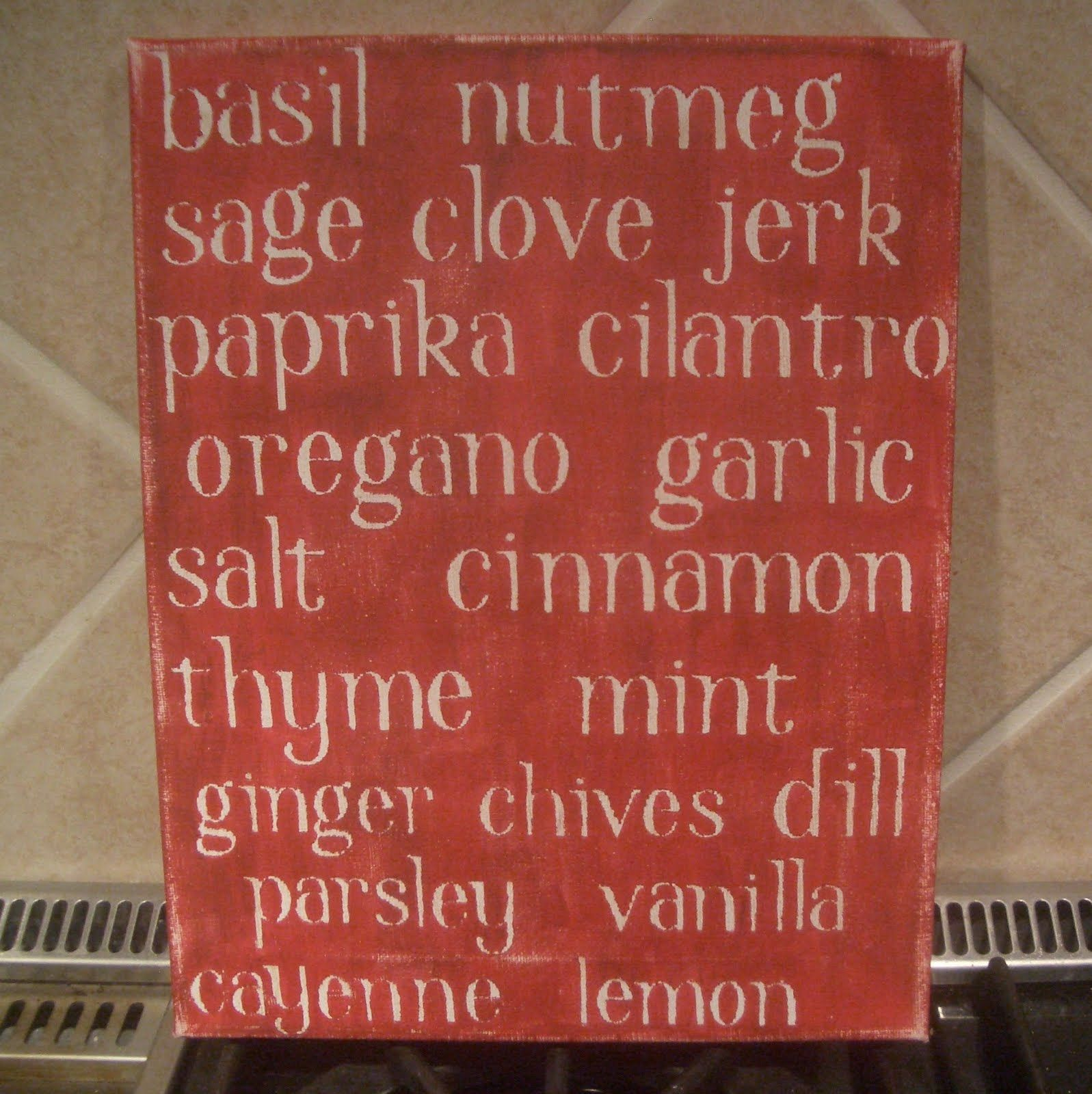 Basil Nutmeg Sage Clove Jerk Paprika Cilantro Oregano
