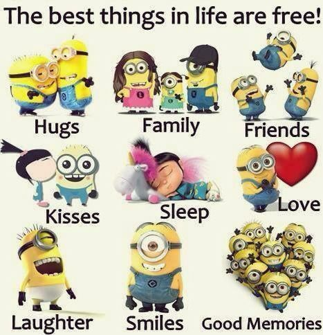 The Best Things In Life Are Free Minions Funny Minions Funny