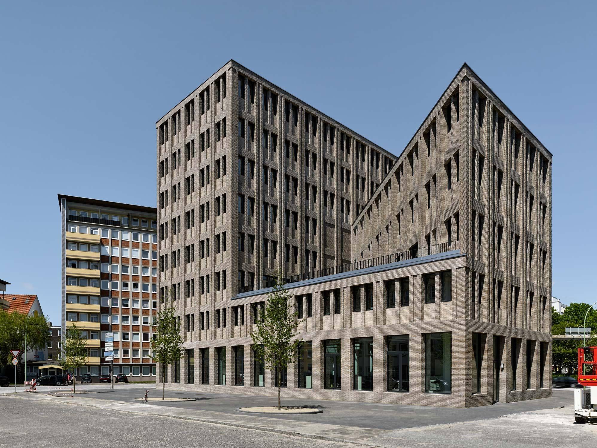 Architekten Bremerhaven träger backstein über max dudlers aok neubau in bremerhaven
