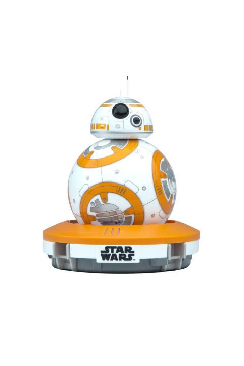 Yes, even grownmen will spend hours playing with this Star Wars BB-8 ball. It listens and responds to actions you program through your smartphone app (it can also recognize and react to your voice!), and has the same quirky attitude as the Star Wars character in the films. $124.99, amazon.com