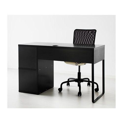 Wonderful MICKE Desk With Integrated Storage   Black Brown   IKEA