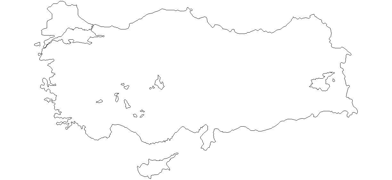 Dwg Adı Autocad Türkiye Haritası çizimi Indirme Linki Www
