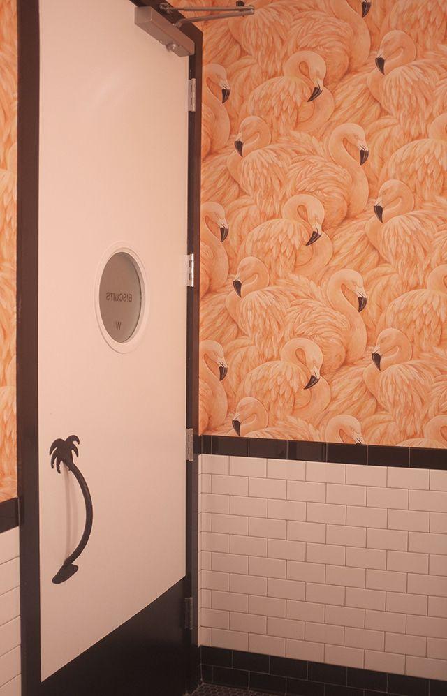 flamingo bathroom   Spaces to Love*   Pinterest   Flamingo ...