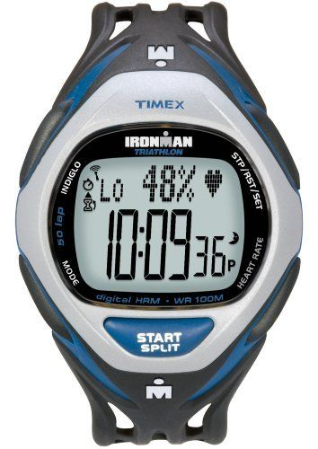 Timex Ironman Men S Race Trainer Heart Rate Monitor Watch Black
