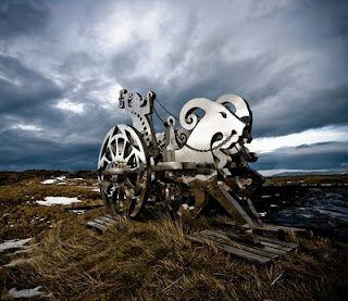 Thor & goats by Haukur Halldórsson (Straumur, Iceland)
