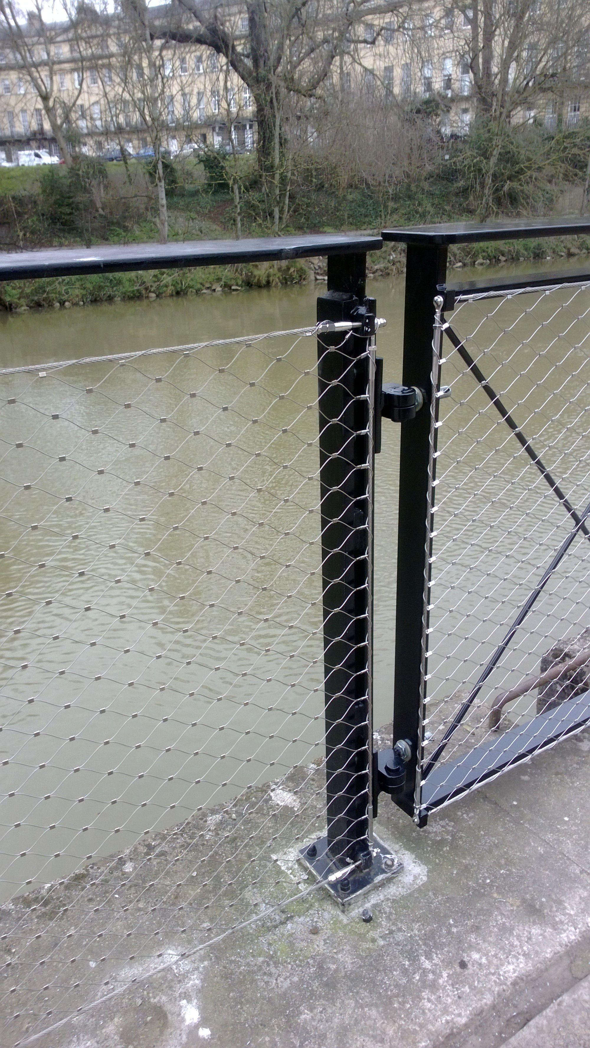 Jakob Webnet Balustrade In Fill At Bath Western Riverside