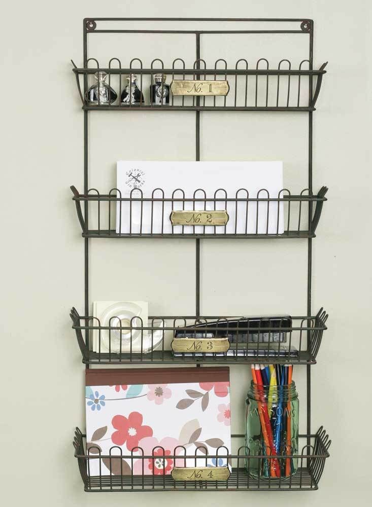 Shelves Wire Wall Organizer
