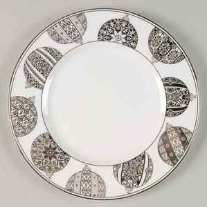 Lenox Federal Platinum Christmas Accent Luncheon Plate 5790747 | eBay  sc 1 st  Pinterest & Lenox Federal Platinum Christmas Accent Luncheon Plate 5790747 ...