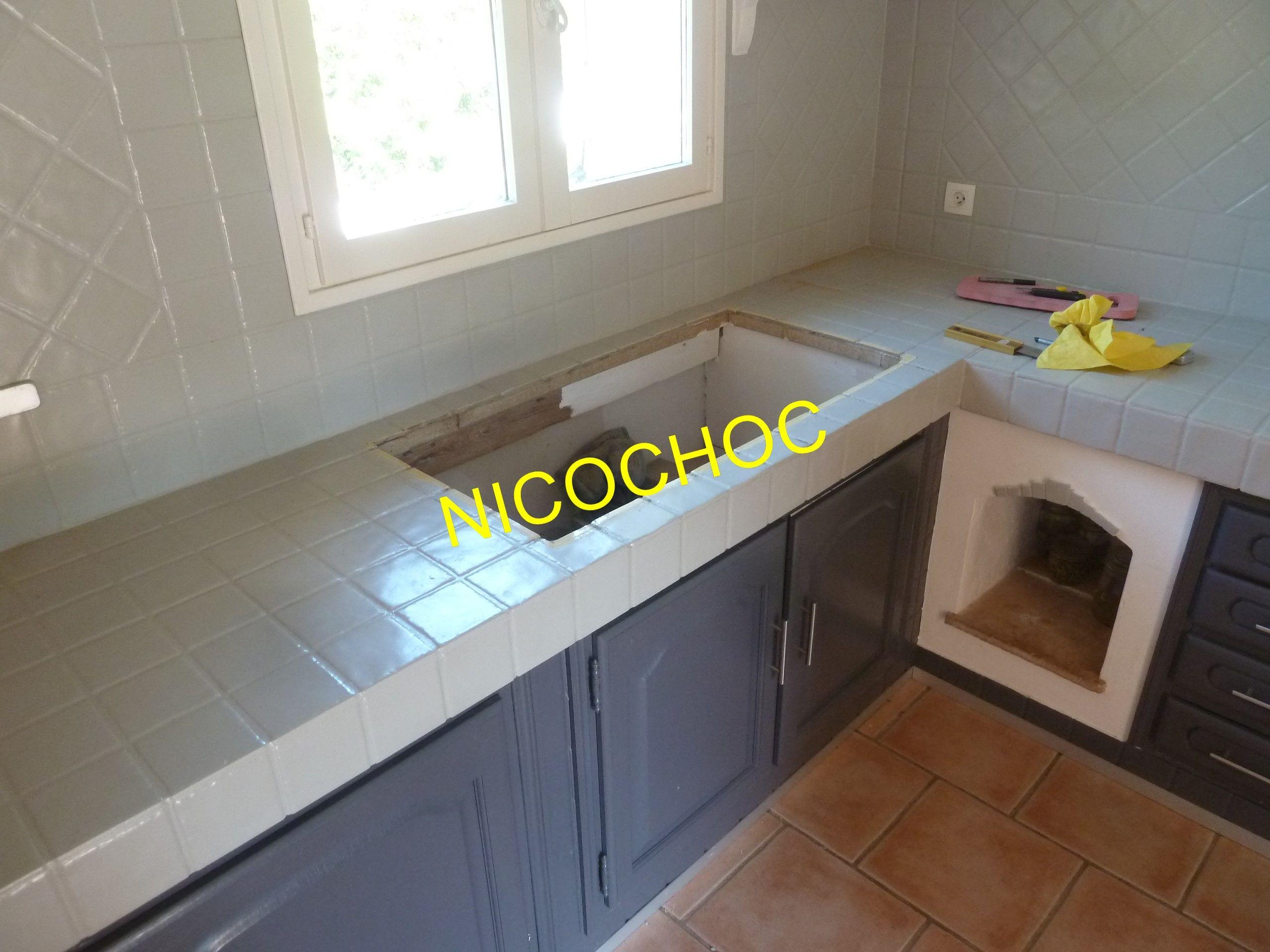 Ancien Plan De Travail Carrele Detail Evier Deco Maison Plan De Travail Maison