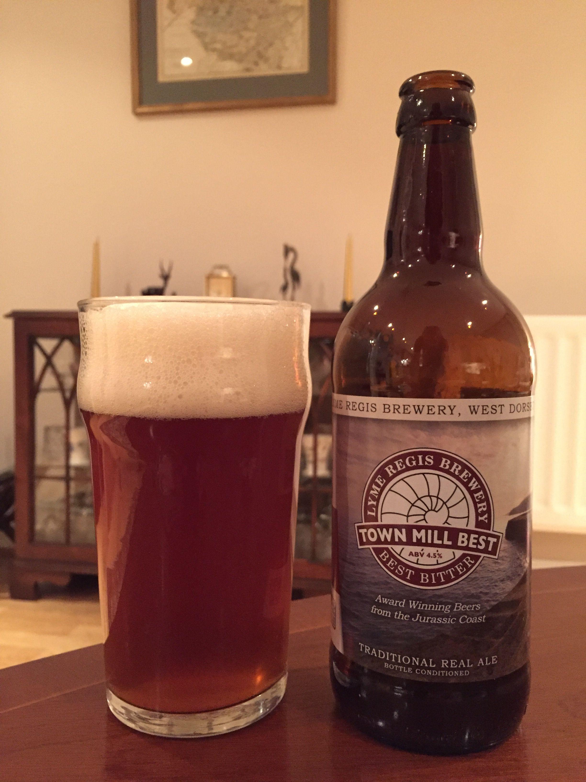 Town Mill Best Best Bitter Lyme Regis Brewery 2018 08 28 Beer Beer Bottle Brewery
