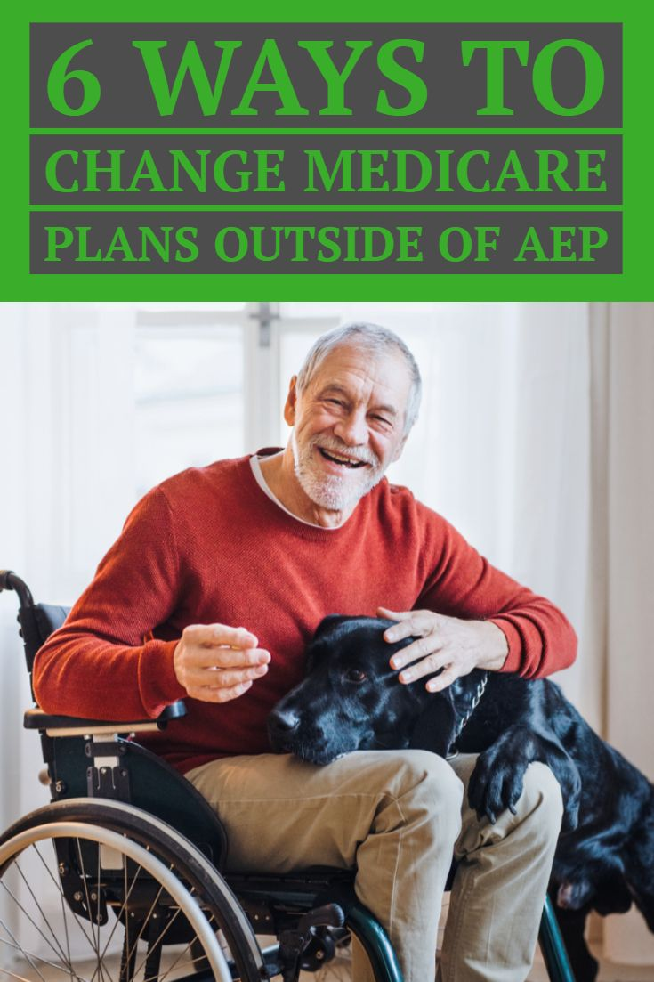 Find out how to change medicare plans without waiting for