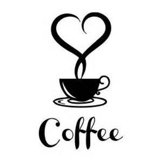 Coffee Shop Wall DecalCoffee Wall DecalCoffee DecalCoffee Cafe - Custom vinyl wall decals coffee