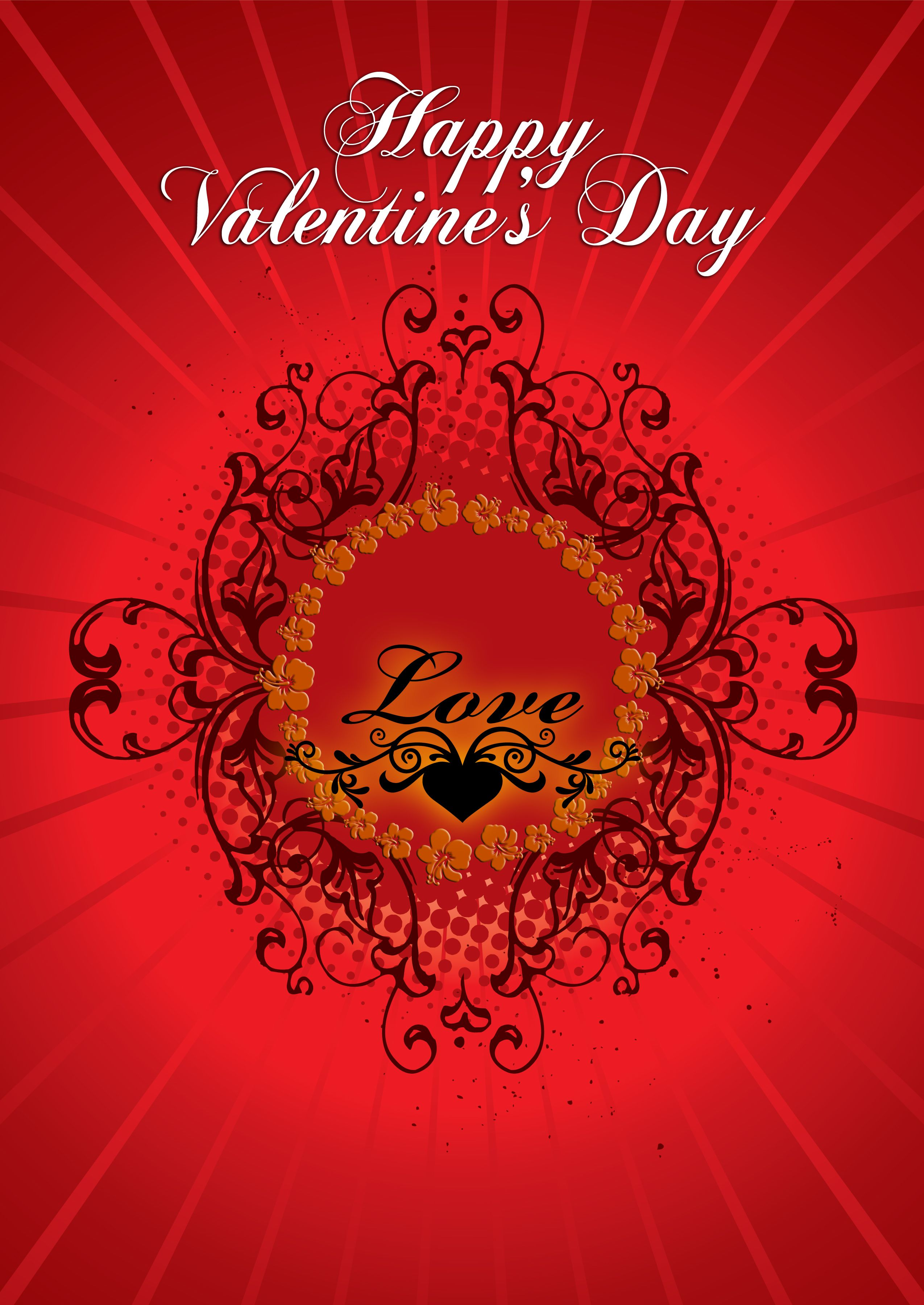 happy valentines day card 2014 free