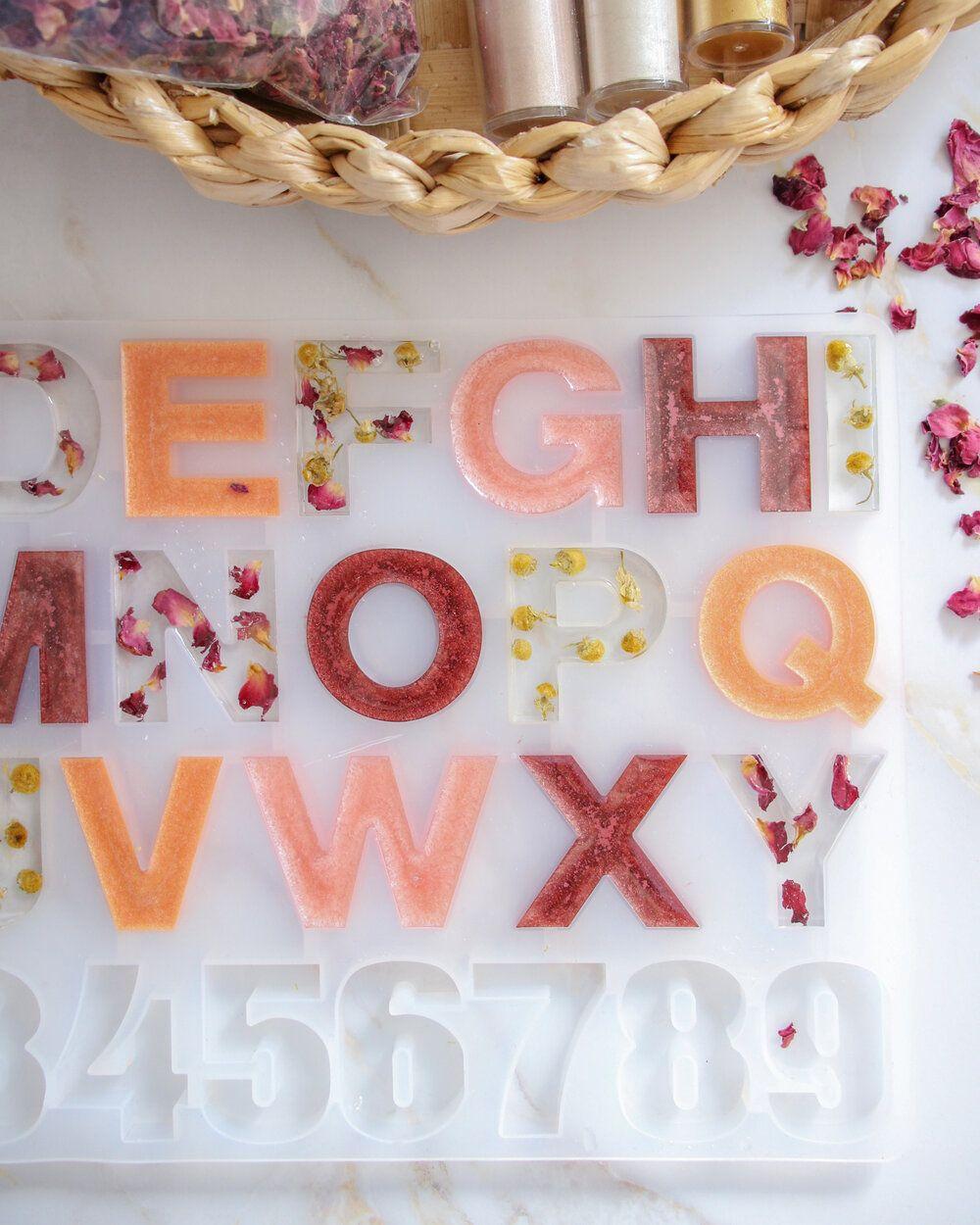 Photo of DIY Resin Letters — N.S