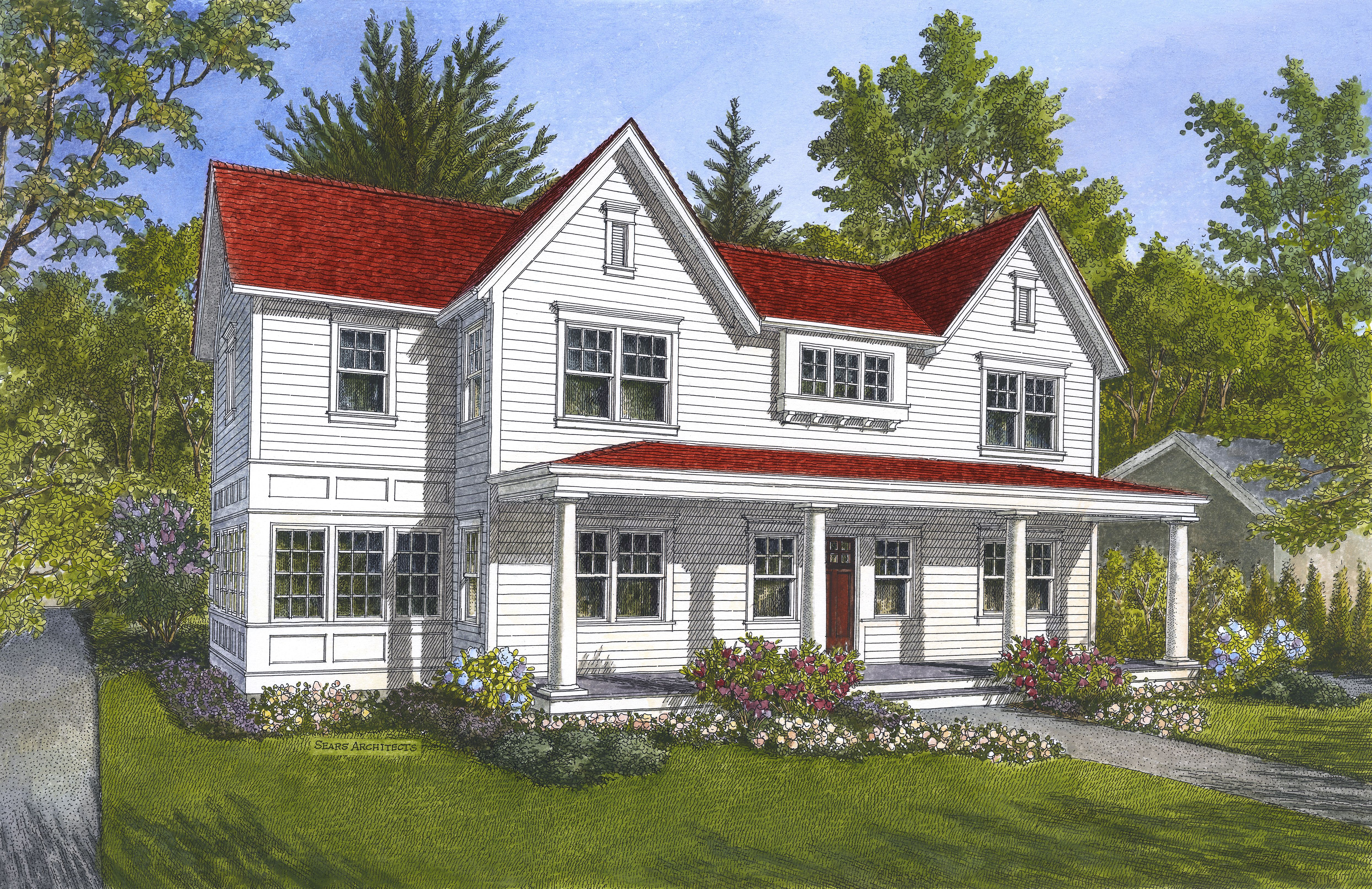 941 Pinecrest Featured On Mlive Sears Architects Red Roof