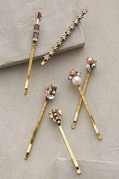 starlight bobbypins so cute for the bride or