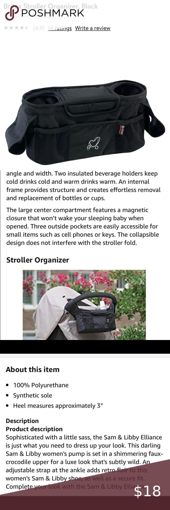 Britax stroller ORGANIZER (like NEW!!)