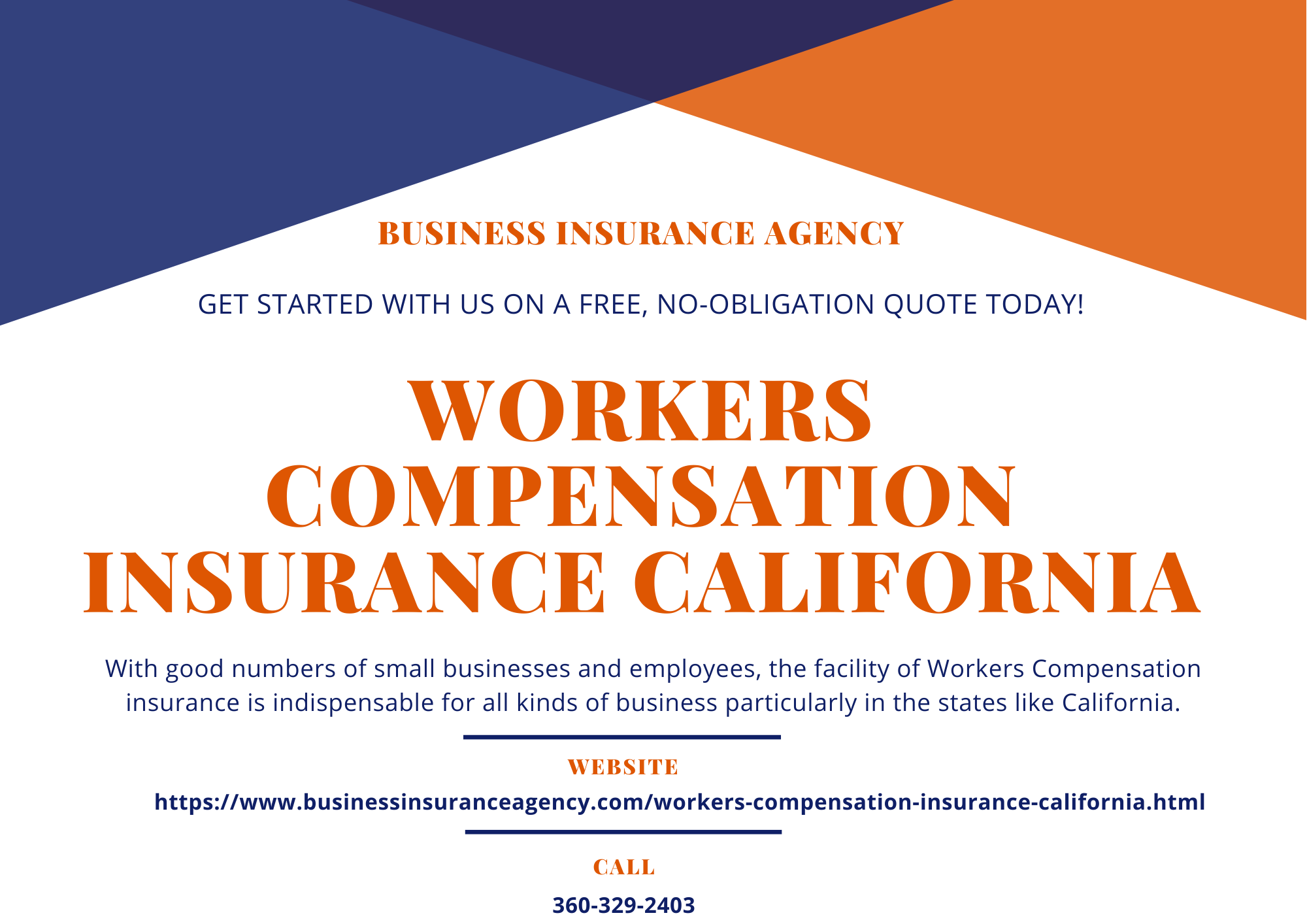 WORKERS COMPENSATION INSURANCE CALIFORNIA   Workers compensation insurance, Business insurance ...