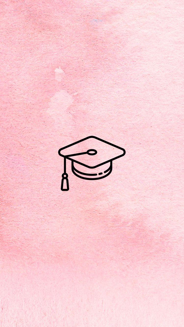 Instagram Story Cover Graduation Blush Www Instagram Com Jordanrenie Pink Instagram Instagram Icons Instagram Logo