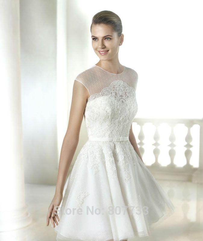 vestidos cortos de novia 2015 - Buscar con Google