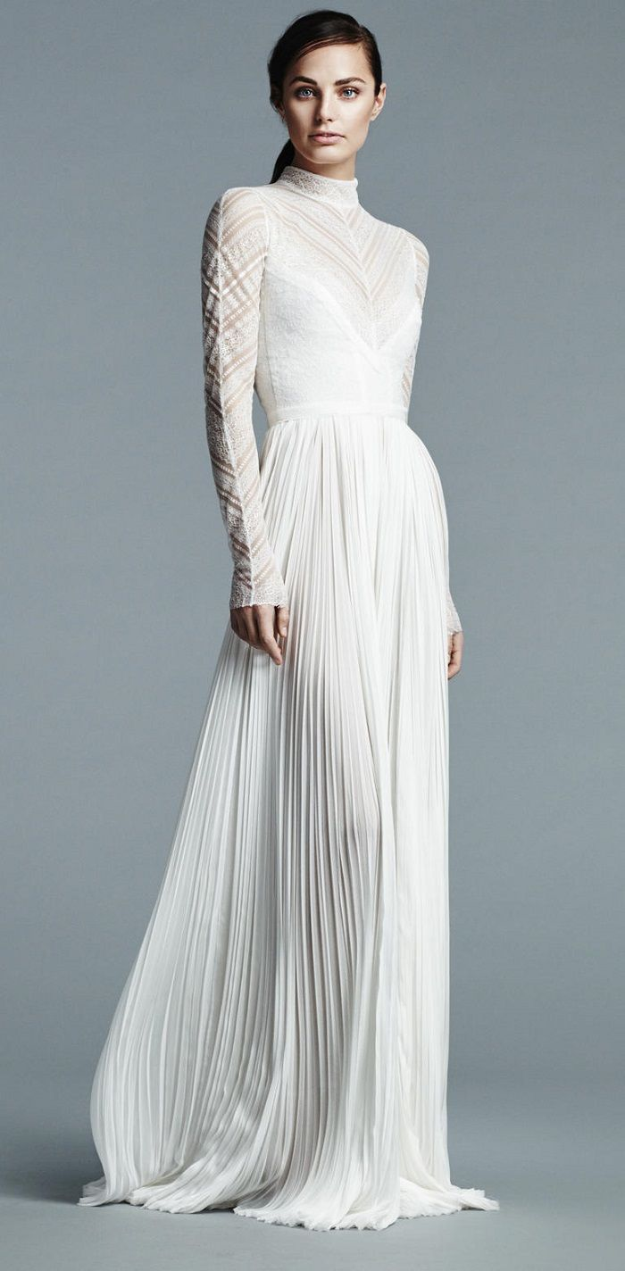 J mendel bridal 2017 wedding dresses j mendel bridal for Modern long sleeve wedding dresses
