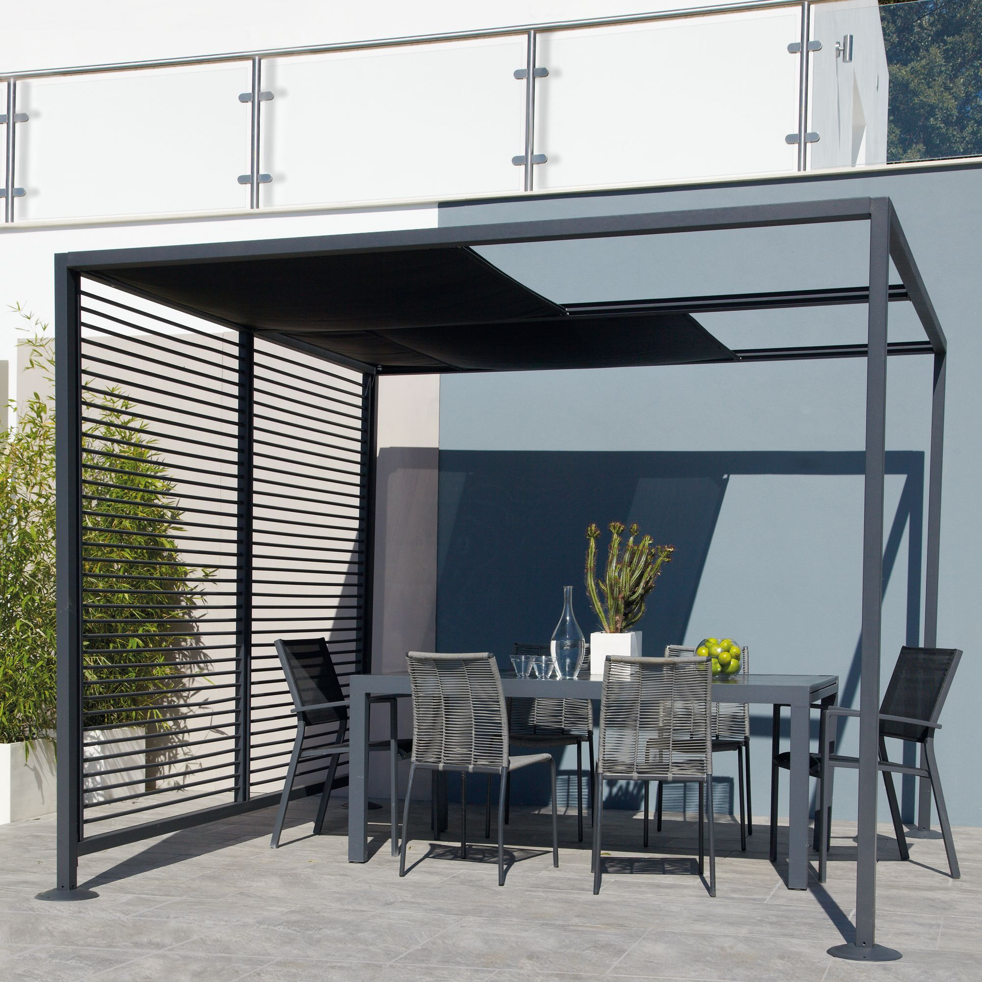 Blooma Moorea Metal Gazebo - Assembly Required | Departments | DIY at B&Q