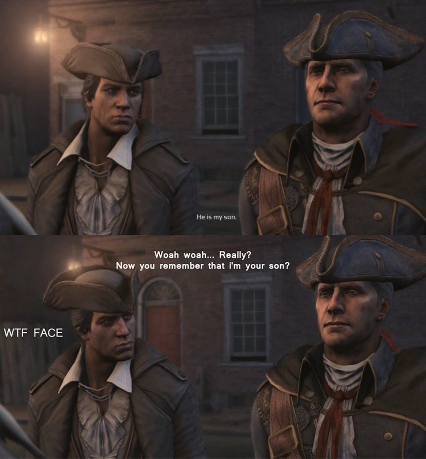 Connor And Haytham Fanfiction Assassin's Creed - Con...