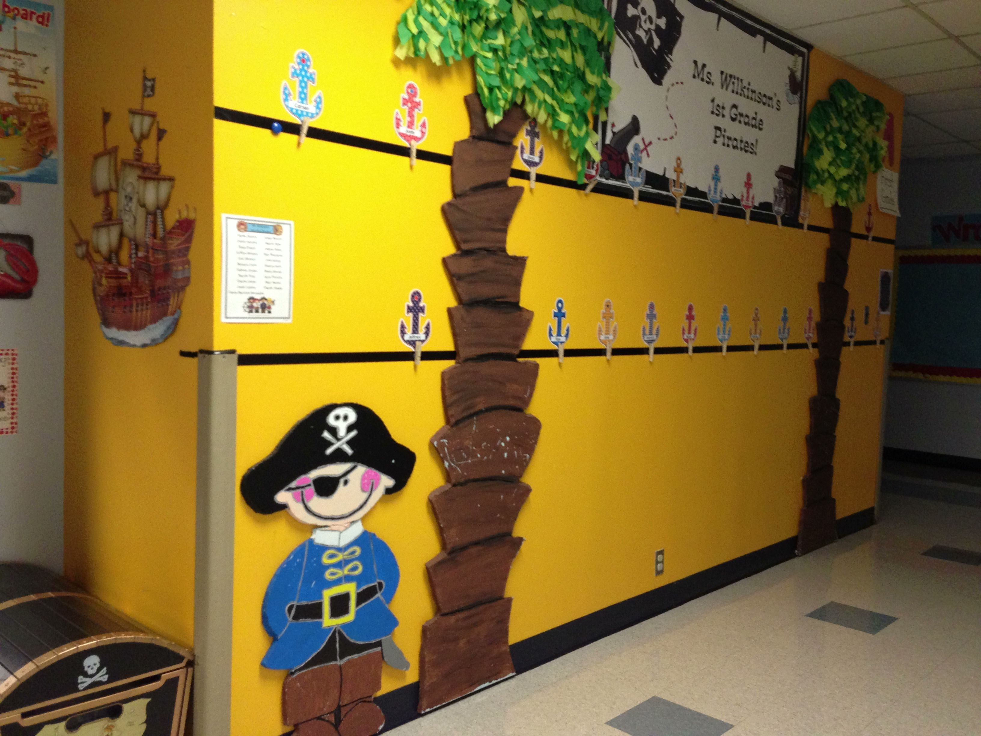 This is my first grade pirate classroom. | Mrs. Beyer\'s 1st Grade ...
