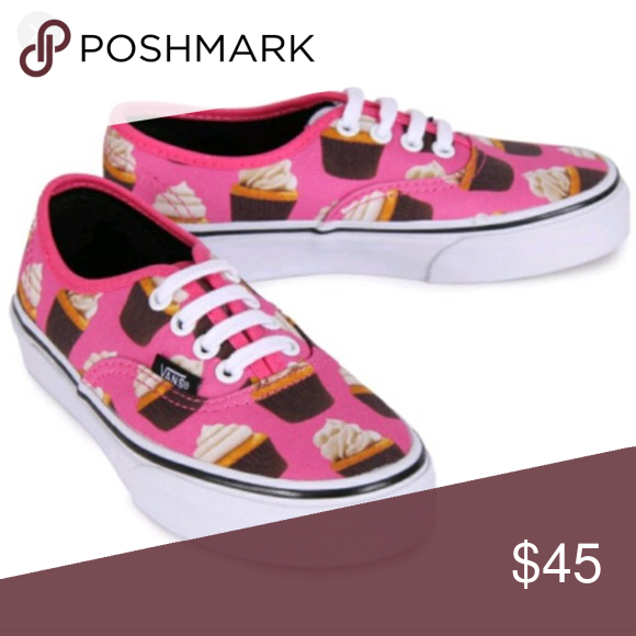 Brand New Vans Late Night Cupcake Shoe