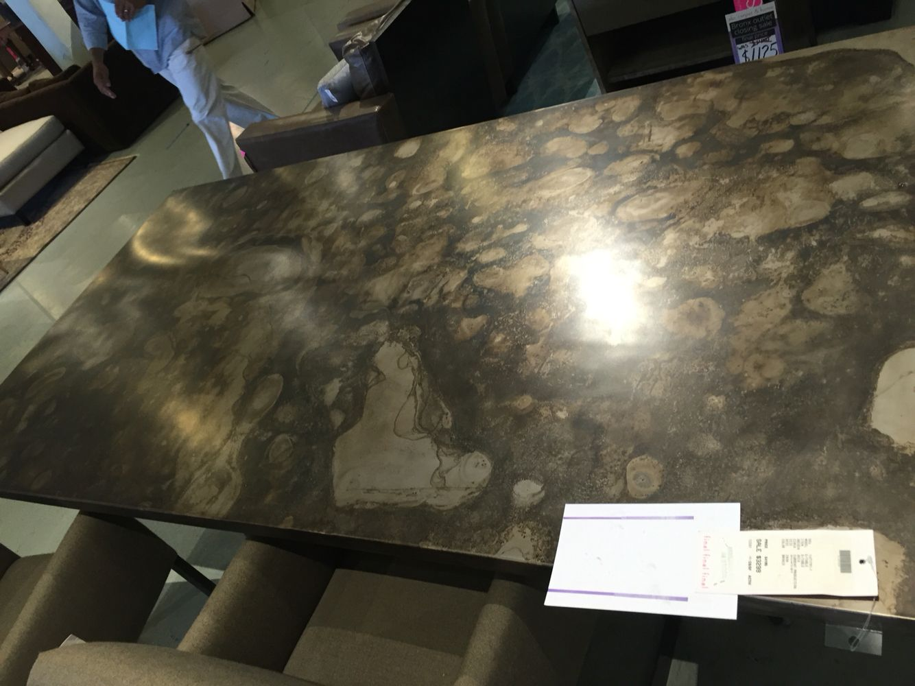 ABC Dining table