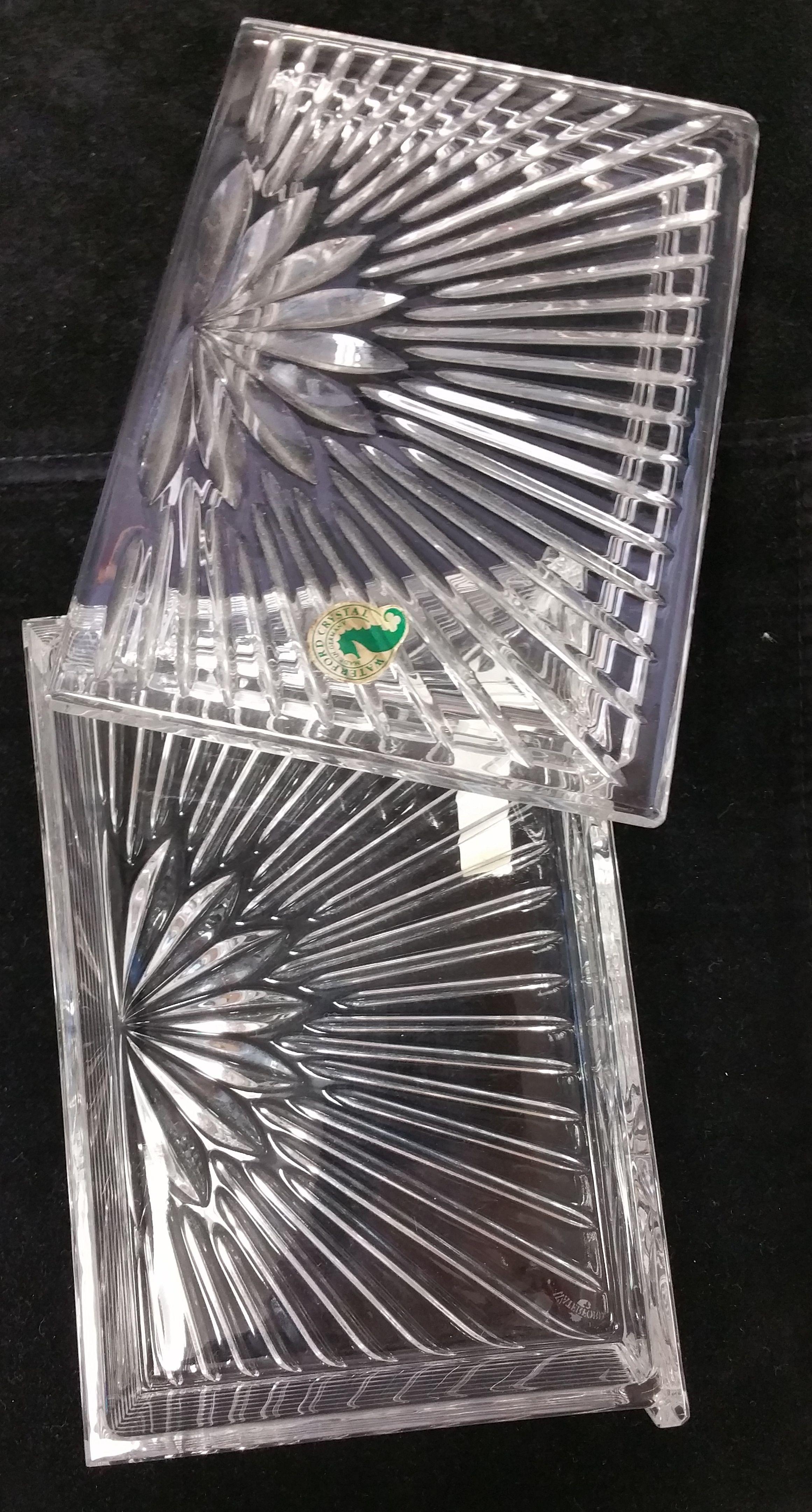 Waterford Crystal Millennium Keepsake Box 114859 | Waterford crystal ...