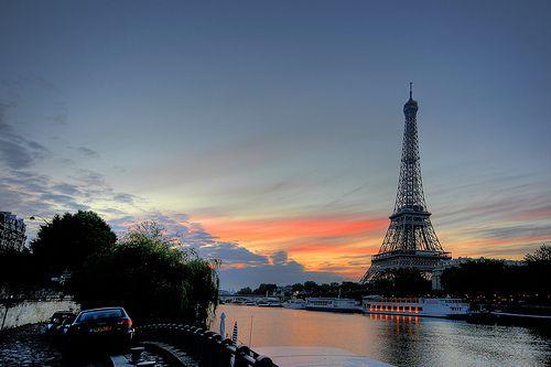 Imagen de paris, eiffel tower, and sky