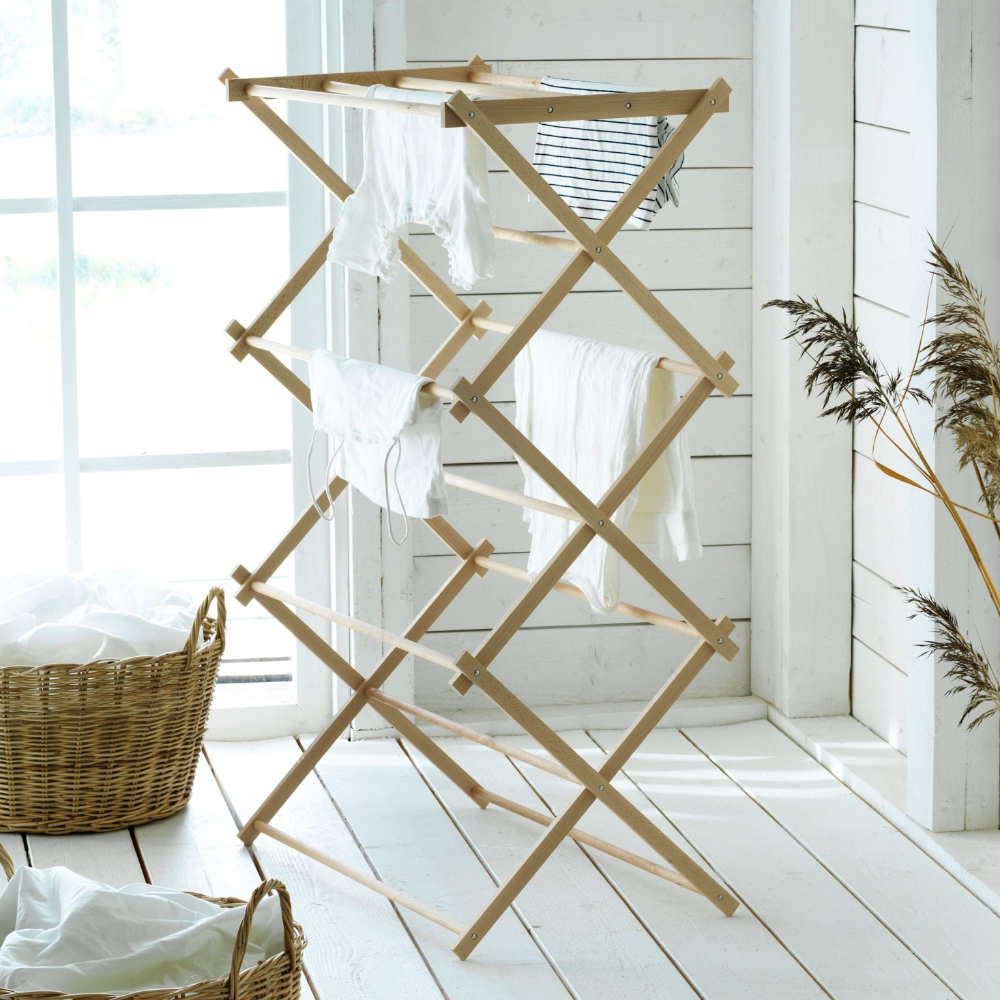 Domestic Science A New Limited Edition Collection Of Household Wares From Ikea Remodelista In 2020 Drying Rack Ikea Ladder Decor
