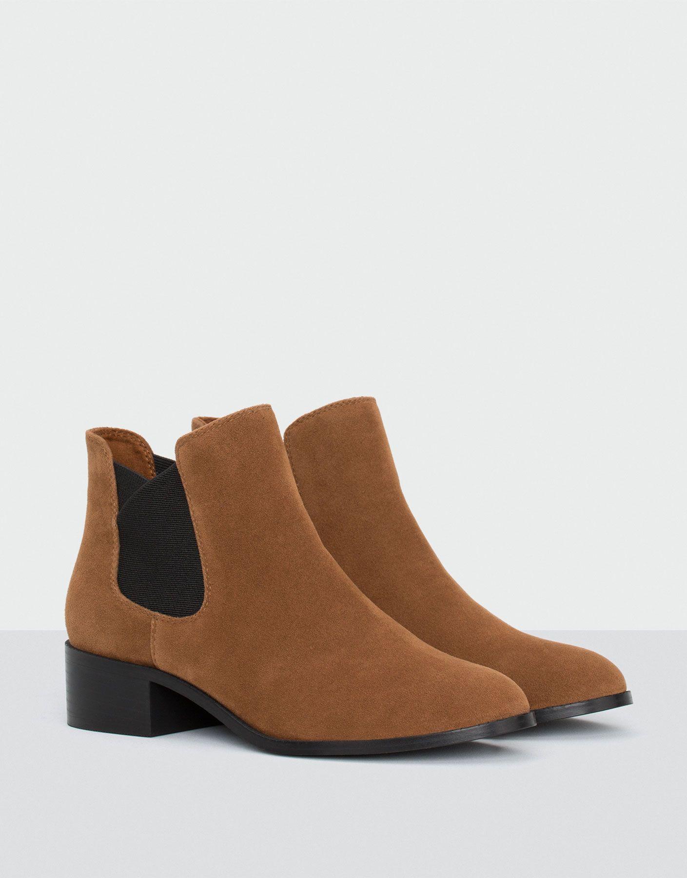Botki Z Gumka W Kolorze Skory Zobacz Wszystko Buty Dla Niej Women Shoes Boots Ankle Boot