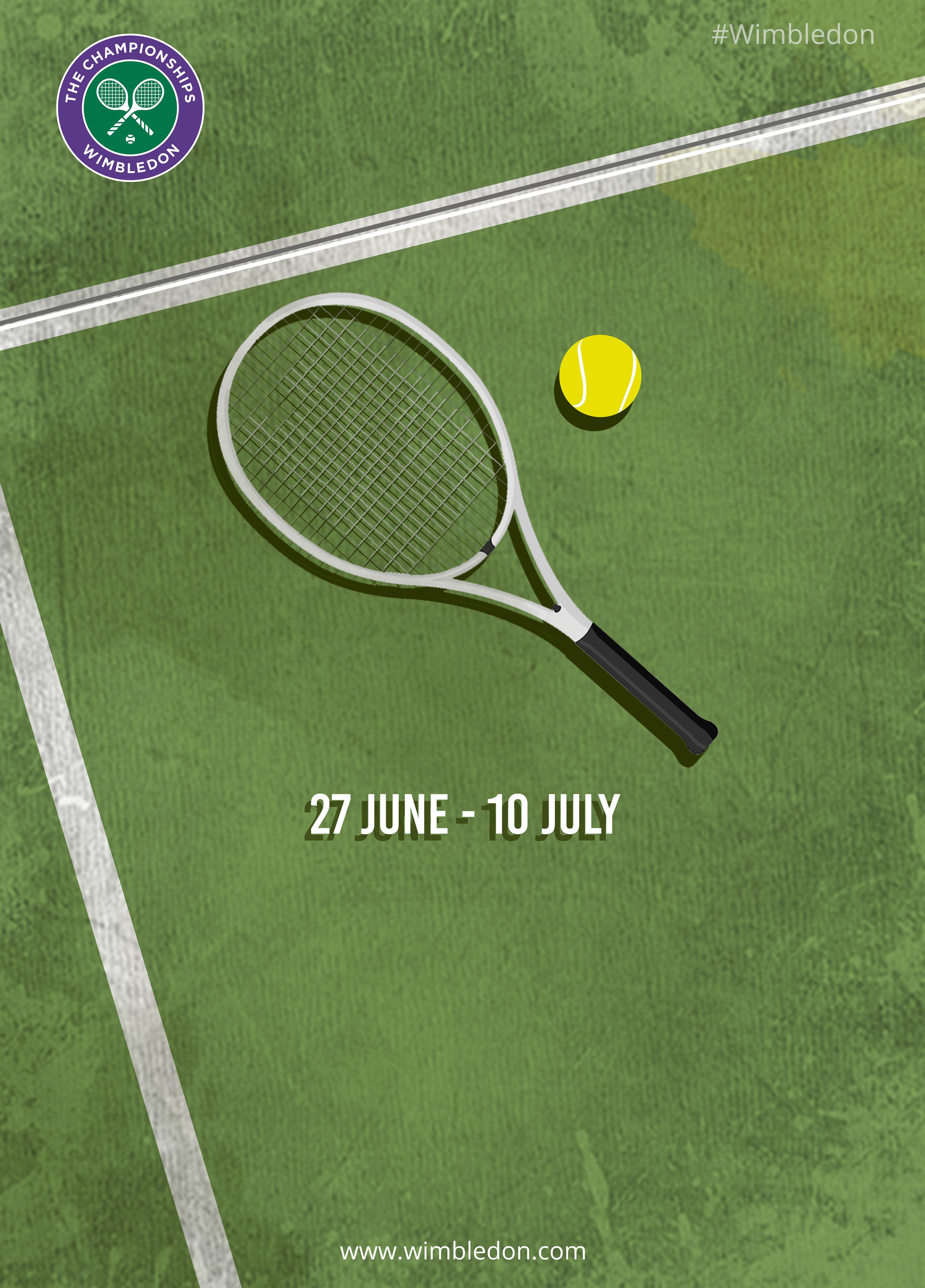 Pin By L Etoile Sport On Tennis X Design Wimbledon Tennis Tennis Posters Tennis