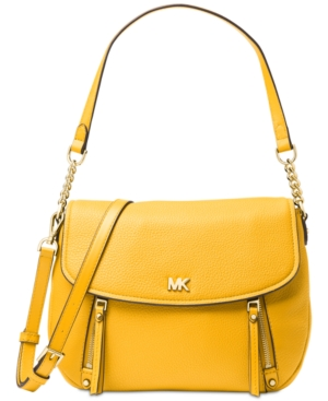 16cd474e0442 Michael Michael Kors Evie Shoulder Bag - Yellow