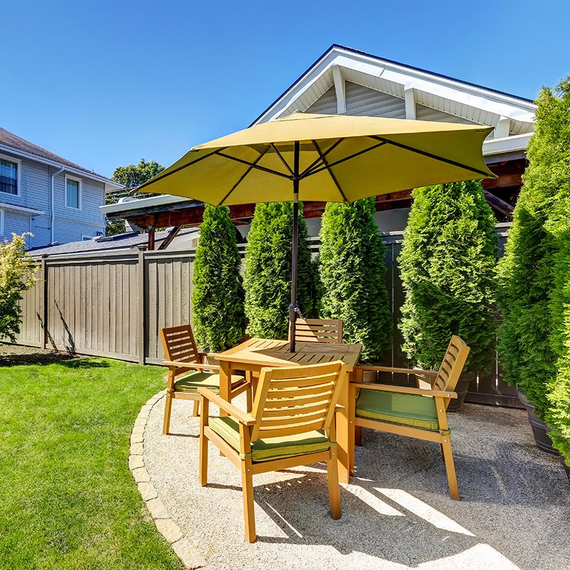 9 Facons De Creer De L Ombre Sur Votre Terrasse Parasols Terrasse Et Pavillon De Jardin